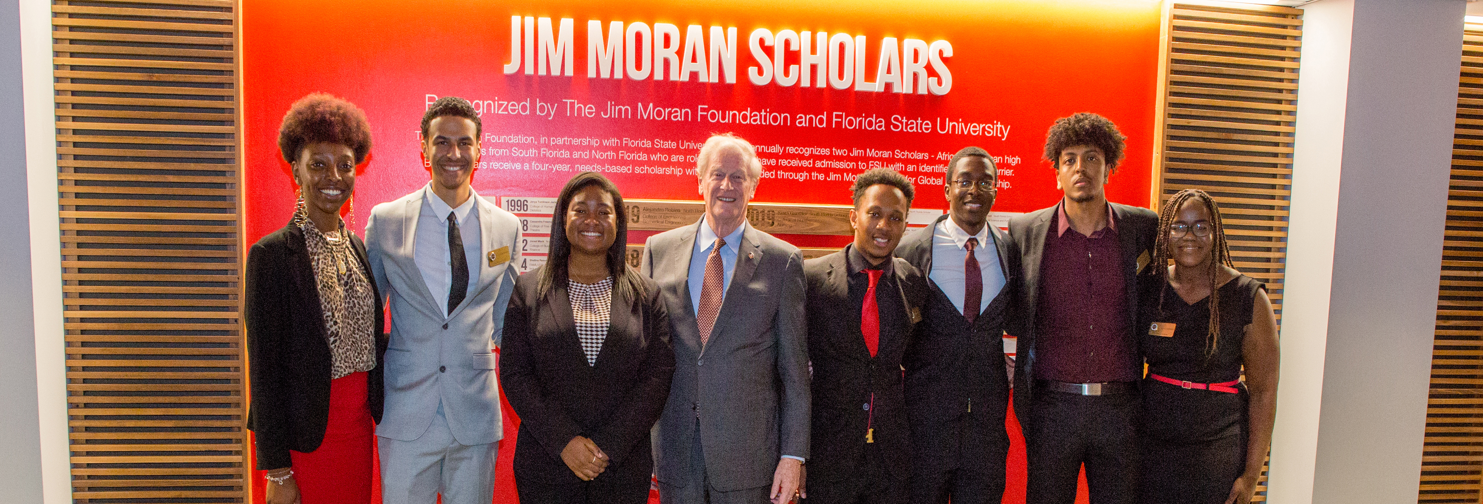 Photo of the Jim Moran Scholars 2019