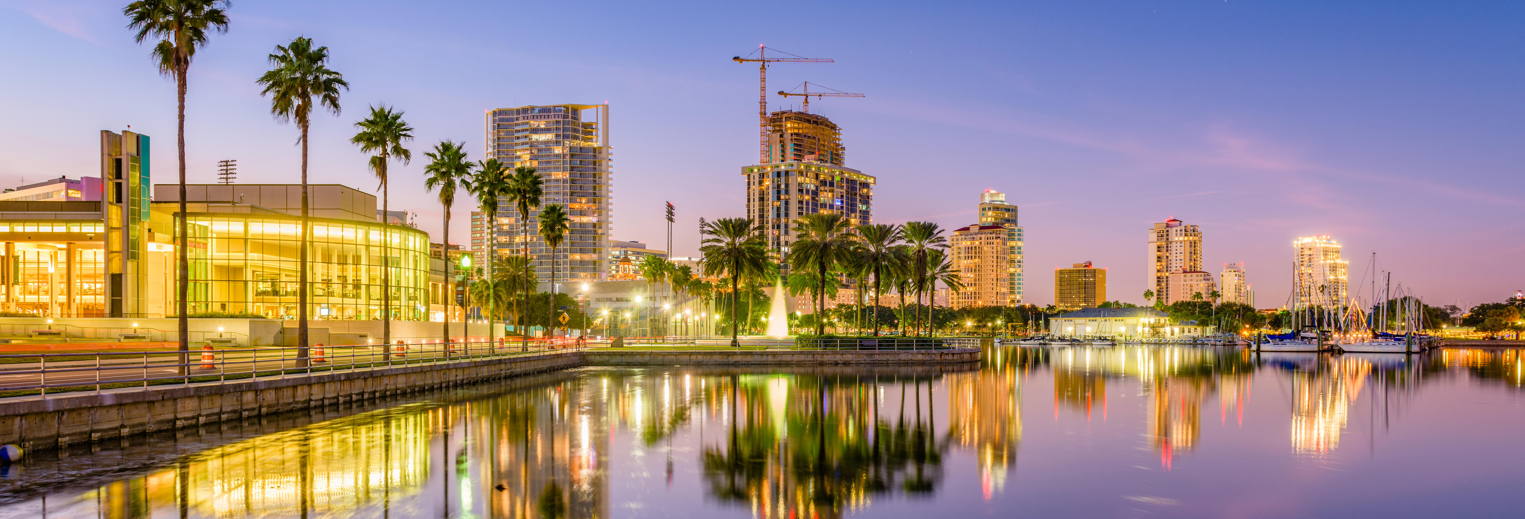 Stock Photo of St. Pete Skyline